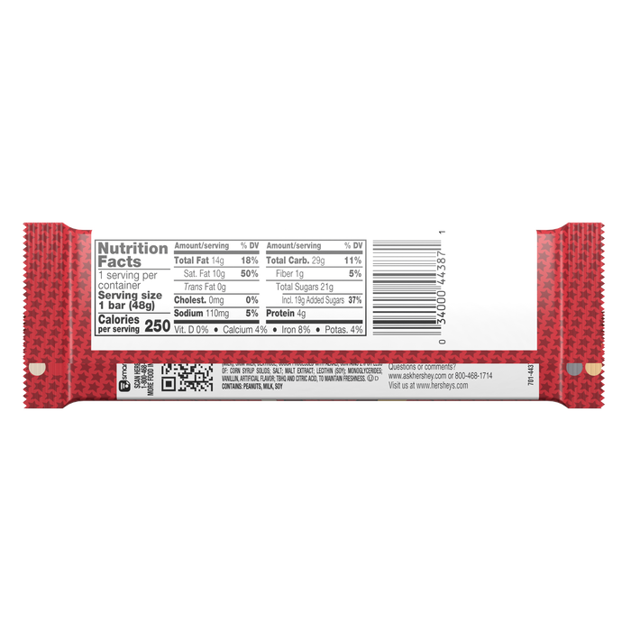 Image of WHOZEEWHATZIT Chocolate Candy Bar, 1.7 oz. 36-Pack (36 x 1.7 oz. bar) Packaging