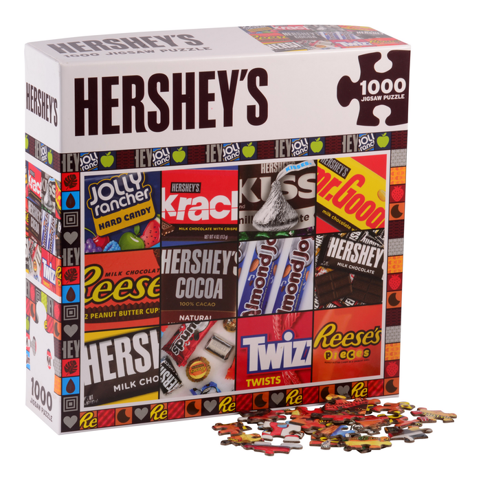 Image of HERSHEY'S Candy Moments Puzzle – 1000 Pieces Packaging