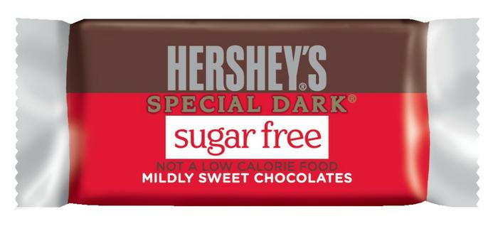 Image of HERSHEY'S SPECIAL DARK Sugar Free Candies Packaging