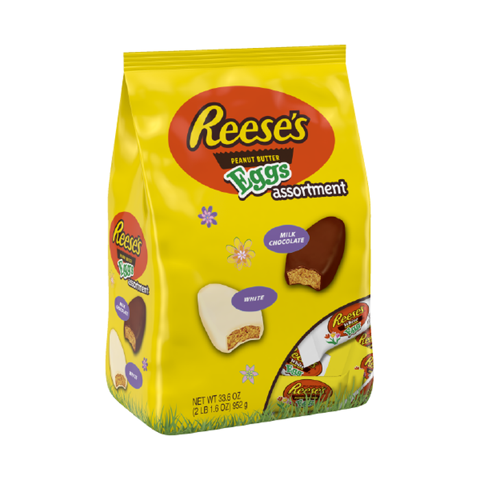 Image of REESE'S Peanut Butter Eggs Assortment, 33 oz. [1 pack] Packaging