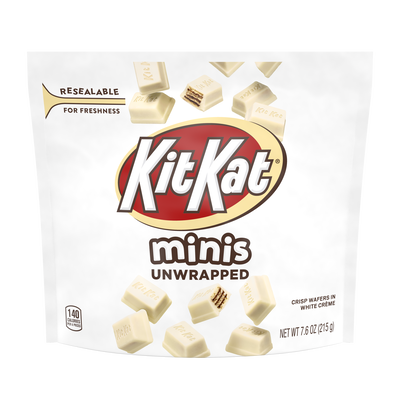 KIT KAT White Minis Crisp Wafers 'n Creme