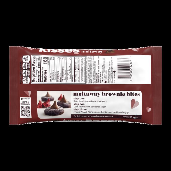 Image of HERSHEY'S KISSES Roses Milk Chocolate Meltaway, 9 oz Packaging