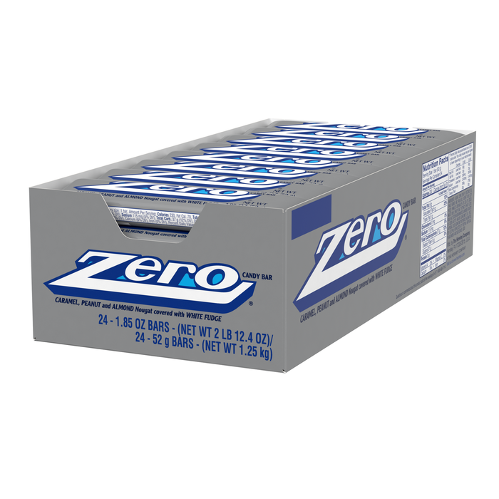 Image of ZERO Standard Bar [24-Pack (24 x 1.85 oz. bar)] Packaging