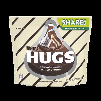 Image of HERSHEY'S HUGS Candies, 10.6 oz. bag Packaging