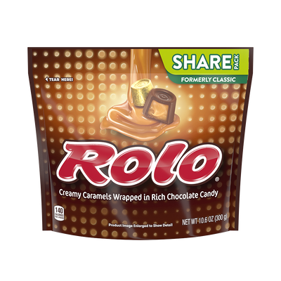 ROLO Chewy Caramels in Milk Chocolate (Bag)
