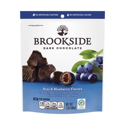 BROOKSIDE Dark Chocolate Acai with Blueberry - 7 oz.