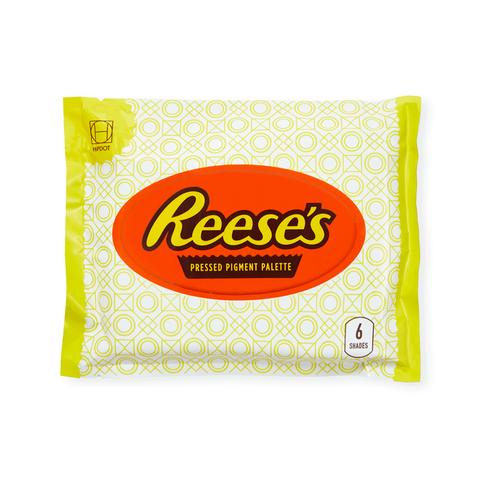 Image of REESE'S White Chocolate Cup Eyeshadow Palette Packaging