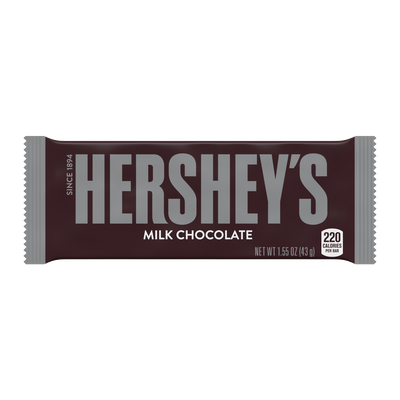 HERSHEY'S Milk Chocolate Standard Bar (36 ct.) [36-Pack (36 x 1.55 oz. bar)]