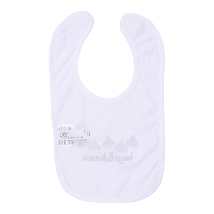 Image of HERSHEY'S HUGS & KISSES Bib [1 bib] Packaging