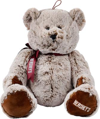 HERSHEY'S Stuffed Bear with Ribbon