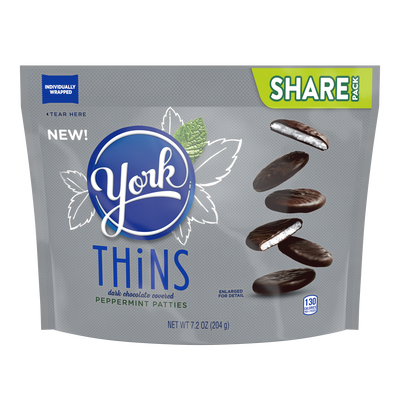 YORK THiNS Peppermint Patties, 7.2 oz