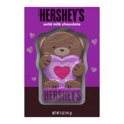 HERSHEY'S Solid Milk Chocolate Bear, 5 oz.