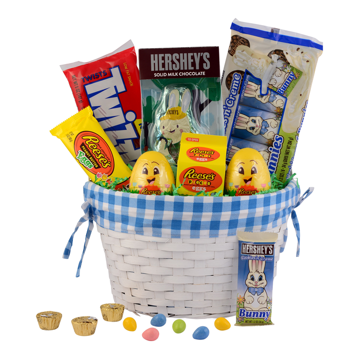 Image of HERSHEY'S SPEEDY BUNNY Easter Basket [1 basket] Packaging