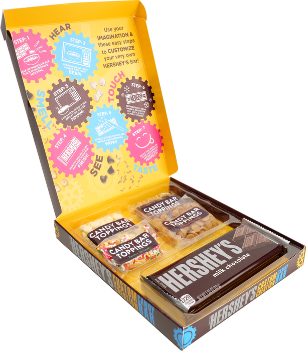 Image of HERSHEY'S Create Your Own Candy Bar Kit Packaging