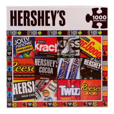 HERSHEY'S Candy Moments Puzzle – 1000 Pieces