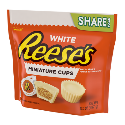 REESE'S White Peanut Butter Cups Miniatures