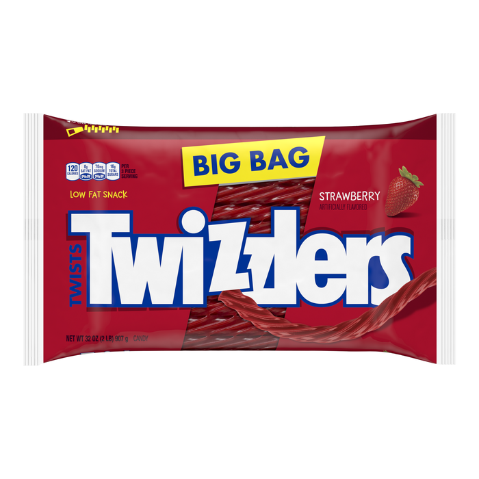 Image of TWIZZLERS Strawberry Twists - 32 oz. Packaging
