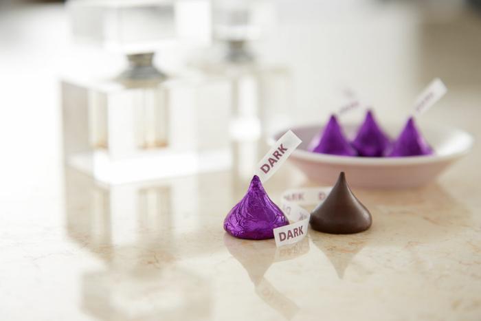 Image of KISSES SPECIAL DARK Chocolates [12 oz. bag] Packaging