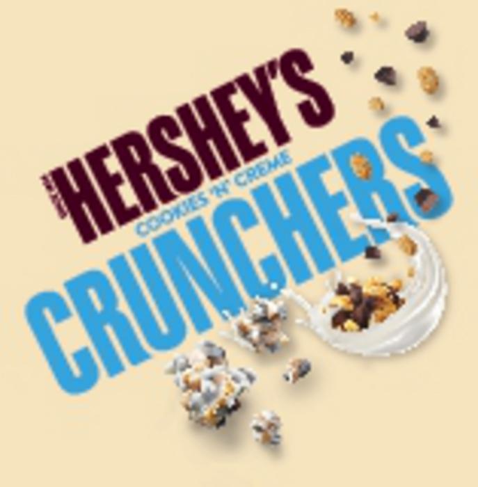Image of HERSHEY'S COOKIES 'N' CREME Crunchers Packaging