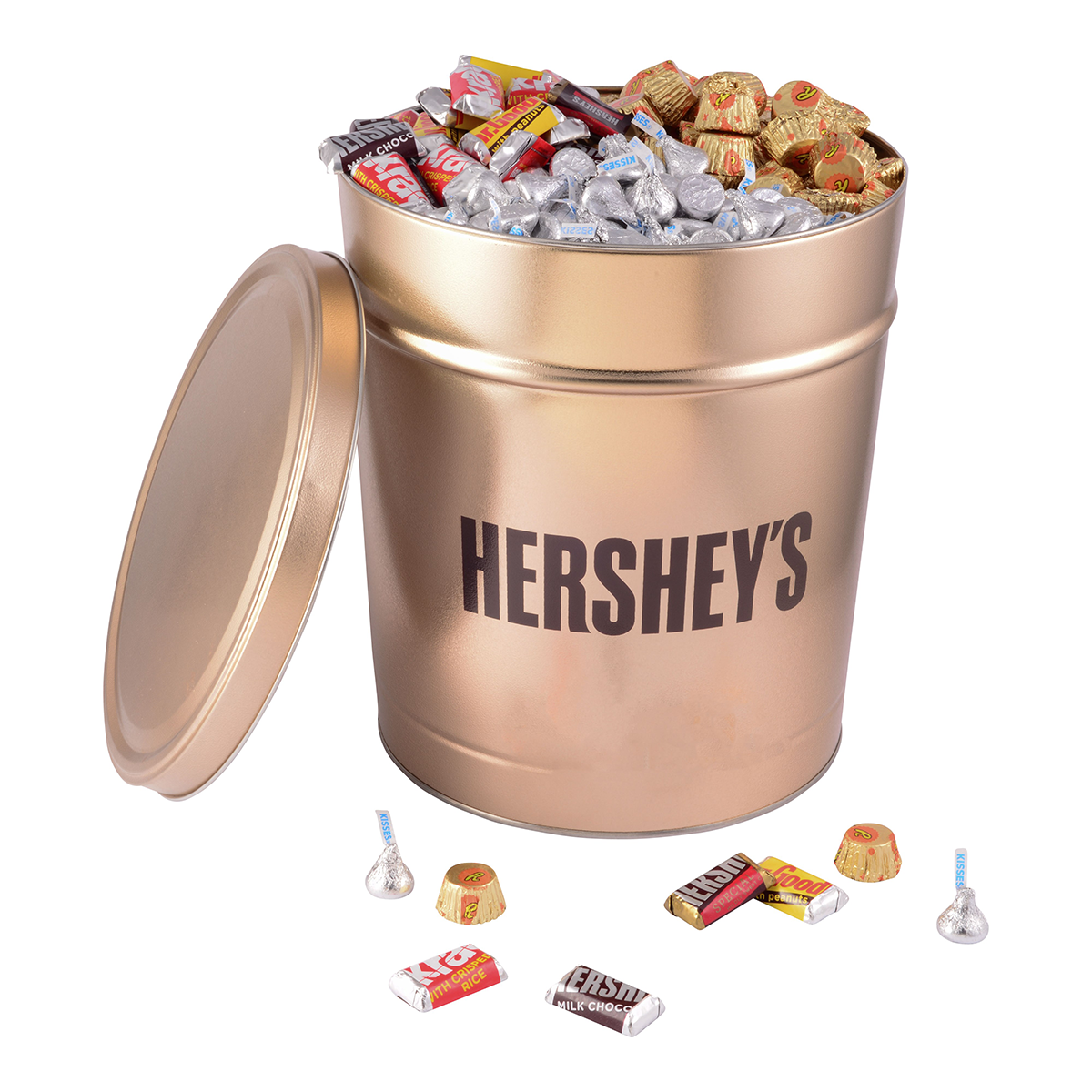 HERSHEY'S Gold Tin, 15 lbs.