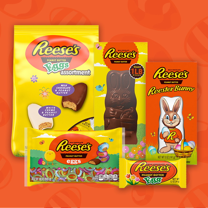 Reeses Easter Bunny, Hershey's Chocolate